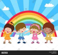 Little Kids Play Over Vector Photo Free Trial Bigstock