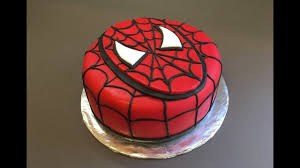 Spiderman Cake Birthday Boy Tutorial How To Bolo Homem