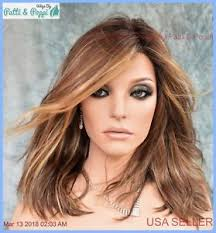 Details About Avalon Estetica Wig Lace Front Lace Part Beachy Waves Color Caramel Kiss Rooted