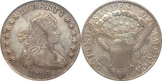 Draped Bust Dollar Value History Charts Landofcoins Com