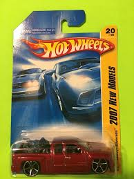 Used 2007 red Hot wheels New Models pick up truck toy for sale in ...