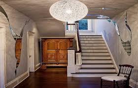 modern interior design medium size adorable entryway chandelier lighting hallway foyer small front burlap contemporary