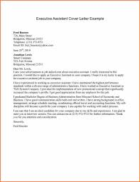 Administrative Assistant Resume Cover Letter Free Resume Example