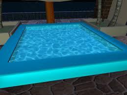 Second Life Marketplace Animated Splashing Swimming Pool Water