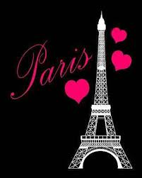 eiffel tower bathroom decor  eiffel tower paris pink black bathroom bedroom hearts print wall