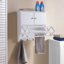 Danya B. Accordion Drying Rack with Cabinet - Free Shipping Today -  Overstock.com - 23297890