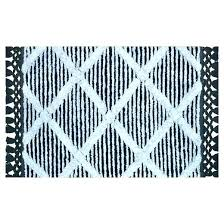 fashionable black white bath rug and gray bathroom rugs grey mat next creative strikingly grey and white bath mat rug