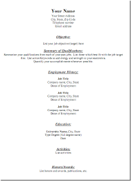 3 useful websites for free downloadable resume templates short resume template