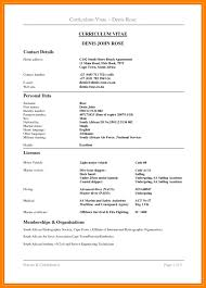 Best 25 Format Cv Ideas On Pinterest Curriculum Vitae Word Within