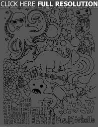 Free Halloween Coloring Pages For Middle School Cool Free Math