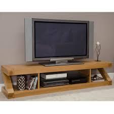 Flat Screen Tv Console Zee Solid Oak Flat Screen Tv Stand Ideal Home Show Shop My
