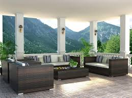 modern wicker patio furniture. Modern Outdoor Furniture For Small Spaces Wicker Patio E