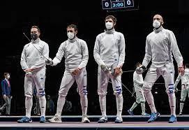 Federazione Italiana Scherma - OLIMPIADE TOKYO 2020 - SPADA MASCHILE A  SQUADRE: ITALIA BATTUTA AI QUARTI DI FINALE