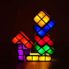 Buy Tetris Light Us 7 46 30 Off Diy Tetris Puzzle Light Stackable Led Desk Lamp Constructible Block Night Light Retro Game Tower Baby Colorful Brick Toy In Led Night
