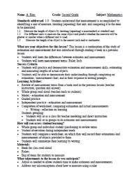 teacher lesson plan template freeport teachers association appr