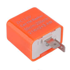 12v 2 Pin Adjustable Frequency Led Flasher Relay Motorcycle