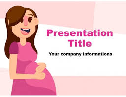 Pregnancy Template Pregnancy Powerpoint Template Free Download