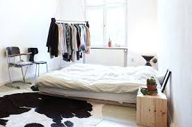 scandinavian bedroom design throw in a cowhide rug for that trademark look interior characteristics