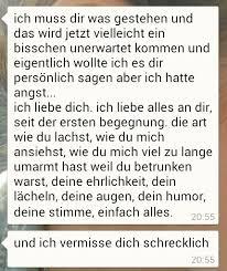 Text Message Liebe Whatsapp Vermissen Mädchen Junge Süß Ich Vermisse