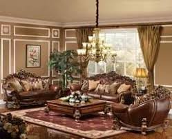 formal leather living room furniture. The Royale Formal Living Room Collection In Parisian Bronze - Formal Leather Living Room Furniture R