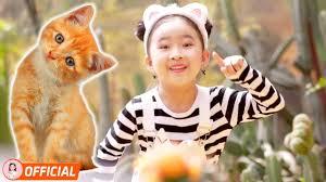 Nhạc Thiếu Nhi Sôi Động Vui Nhộn Cho Bé Ăn Ngon - Chú Mèo Con, Chú Thỏ Con  - YouTube