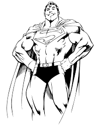 Small Picture Superman From Dc Comics Coloring Page H M Coloring Pages