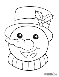 A growing collection of original, free christmas colouring pages to print for your children. Christmas Coloring Pages Easy Peasy And Fun