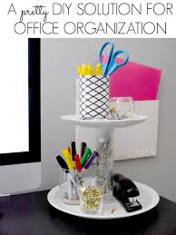 office cubicle organization. DIY Organization For The Office C R A F T Pertaining To Diy Ideas 9 Cubicle