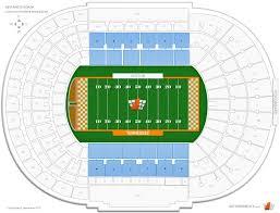 Ut Stadium Seating Chart Neyland Stadium Tennessee Terraces Football Seating