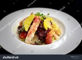Alaska King Crab Salad Stock Photo ...