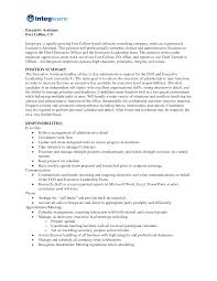 Examples Of Administrative Assistant Resume Free Resume Example