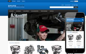 auto parts website template spare parts automobile mobile website template by w3layouts