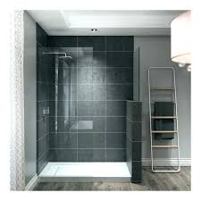 white x rectangular shower pan with single low barrier threshold right drain base installation instructions jacuzzi