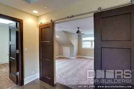 arresting interior double door custom classic solid wood double door barn doors custom wood