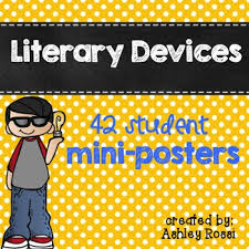 Literary Elements Anchor Chart Literary Devices Anchor Charts For Figurative Language