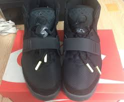 nike yeezy 2. super max perfect nike air yeezy 2 black shoes larger image
