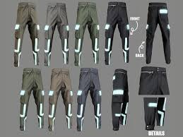 emissive male pants V1 - The Sims 4 Catalog