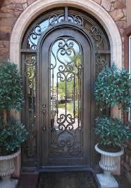 iron entry doors las vegas custom iron doors wrought iron elegant iron and glass front doors