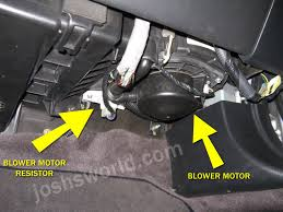 acura tl blower stopped working fix  josh s world acura tl ac heater blower