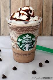 copycat starbucks double chocolate chip frappuccino a spark of creativity