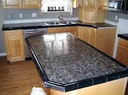ceramic tile kitchen countertop.  Ceramic Porcelain Tiles For Kitchen Countertop Tile Large Format  Or Ceramic  Throughout Ceramic Tile Kitchen Countertop T