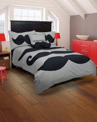 bedding sets king contemporary luxury comforter quilt doona duvet cover sheet pillowcase set white wolf