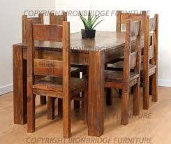 lovely rustic dining room table and chairs dining room table chairs