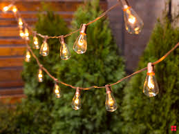 Is It Safe To Spray Paint Christmas Lights Metallic Spray Painted String Lights