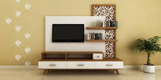 modern ethnic living room small tv. Modern, Ethnic TV Unit With Jaali Design By Intart Interiors In Pune - Price Starting Modern Living Room Small Tv T