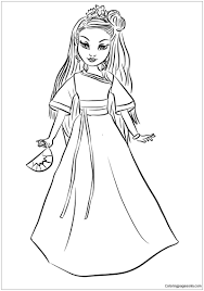 Free Printable Disney Descendants Coloring Pages Download Them Or