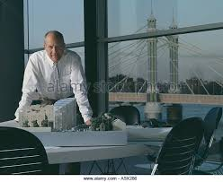 norman foster office. Sir Norman Foster In His Office. Portraits Of Architects And Designers. - Stock Image Office