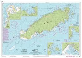 Imray Chart 100 Imray Nautical Chart Imray B4 Tobago