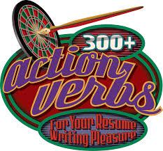 The Informed Illustrator 300 Resume Action Verbs