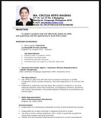 Resume Sample For Fresh Graduate Best Solutions Of Sample Resume